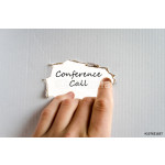 Conference call text concept 64239