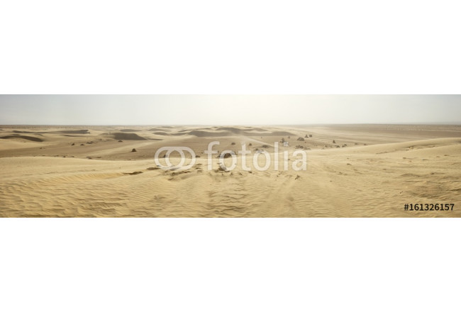 panorama of Sahara desert in Tunisia 64239