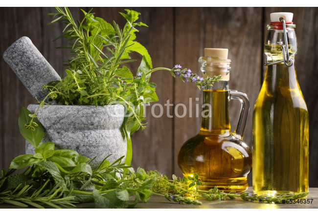 herbs and oil 64239