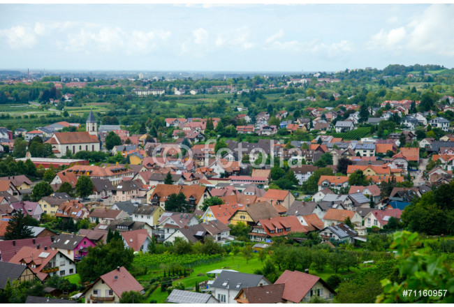 View over Offenburg, Germany 64239