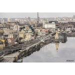 Kiev, the embankment on the Dnieper River 64239