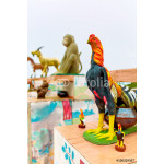 Thailand. Chinese Zodiac Statues In Koh Samui. Travel, Tourism. 64239