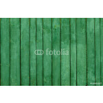 Background of painted green wooden boards 64239