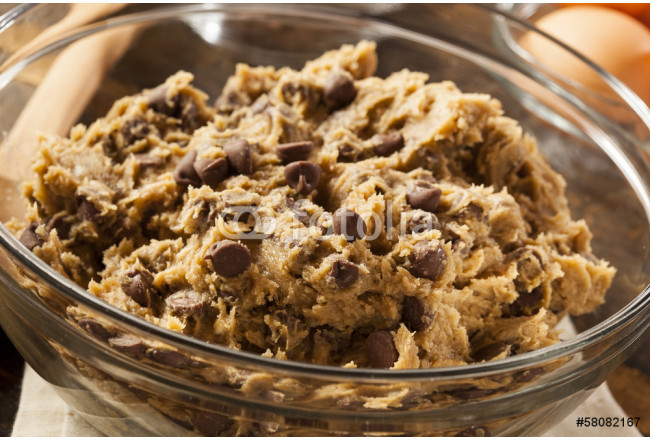 Homemade Chocolate Chip Cookie Dough 64239