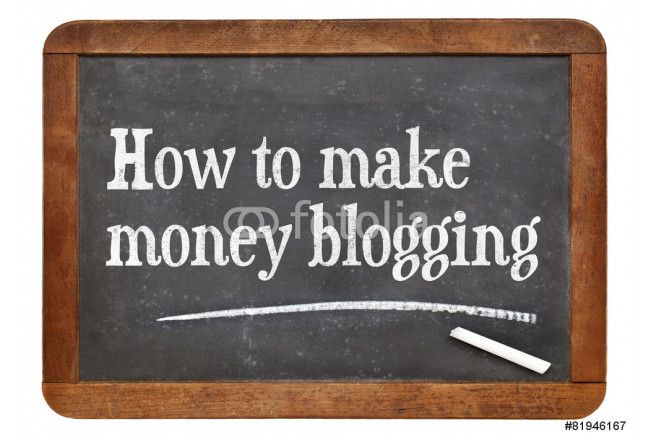 How to make money blogging 64239