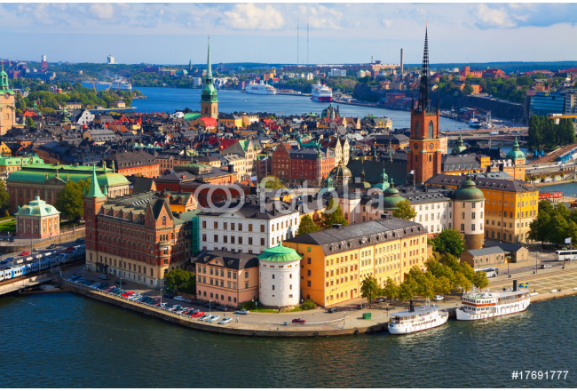 Panorama of Stockholm, Sweden 64239