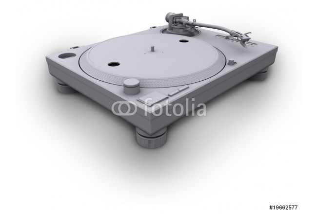 Cuadro decorativo turntable 1210 white 64239