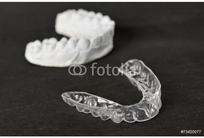 Silicone dental tray and mold 64239