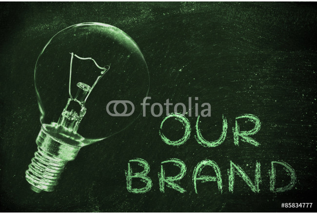 our brand: communicate about your brilliant ideas and vision 64239