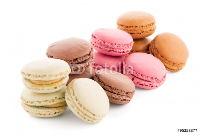Colorful French Macarons 64239