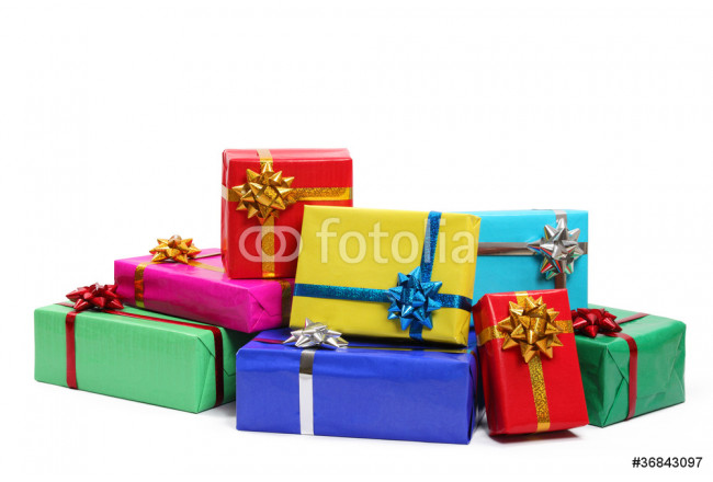 Colorful gift boxes 64239