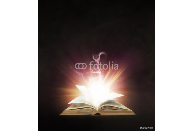 Glowing book 64239