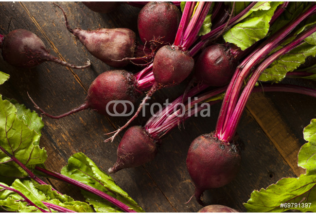 Raw Organic Red Beets 64239