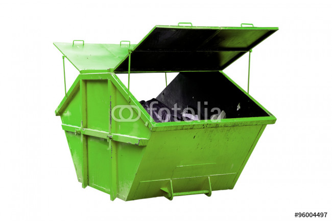 Industrial Waste Bin (dumpster) for municipal waste or industria 64239