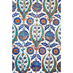 Wall tiles in Sultanahmet Mosque 64239
