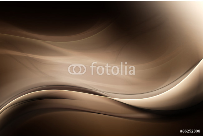 Brown Dark Light Abstract Waves Background 64239