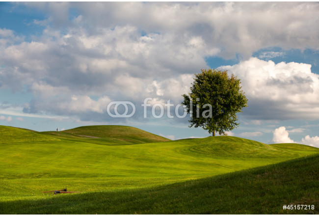On the golf course in Prague, Czech Republic 64239
