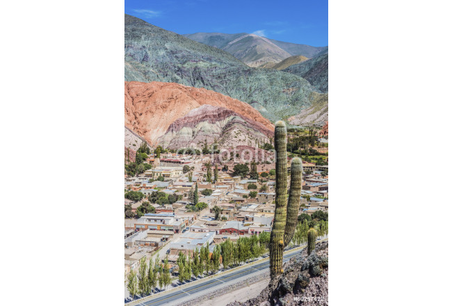 Hill of Seven Colors in Jujuy, Argentina. 64239
