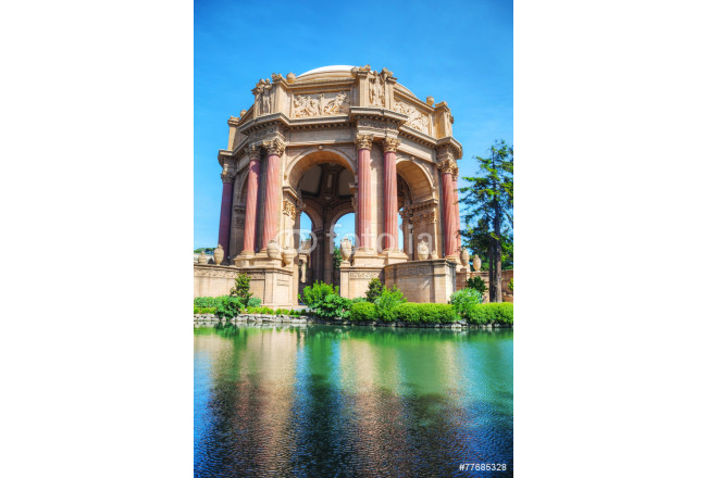 The Palace of Fine Arts in San Francisco 64239