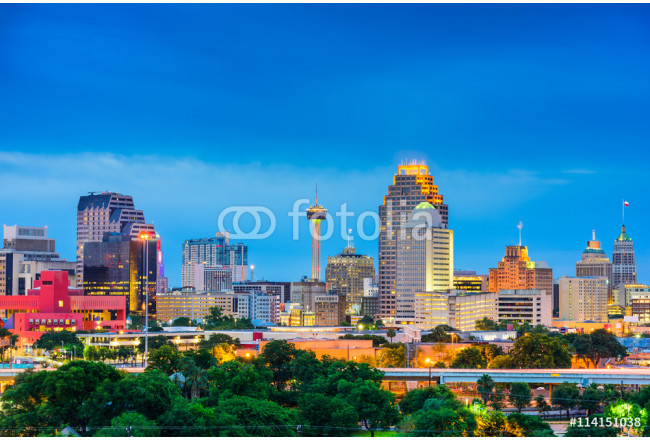 San Antonio Texas Skyline 64239