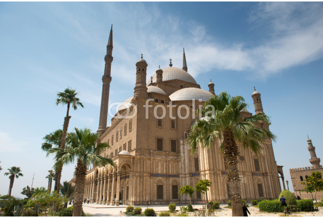 Mosque of Muhammad Ali (Alabaster Mosque) in Cairo, Egypt. 64239