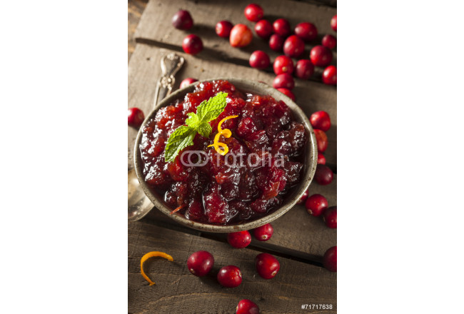 Homemade Red Cranberry Sauce 64239