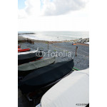 fishing wooden boat moored on the beach 64239