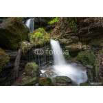 Waterfall in forest 64239
