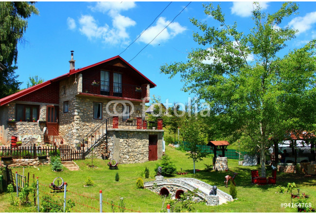 Traditional Macedonian house in village 64239