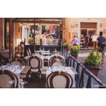 restaurant with open terrace in Rome, Italy 64239