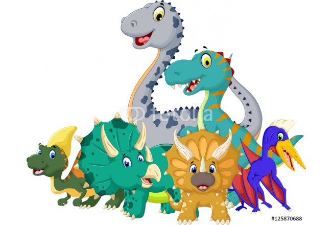 collection of Dinosaur cartoon 64239