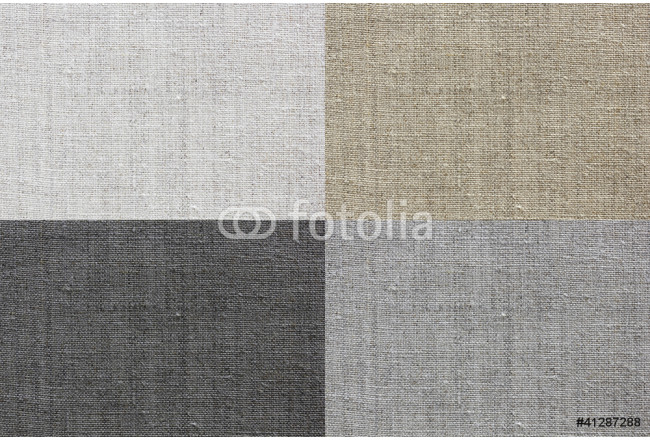 Quadro contemporaneo linen texture for the background of four colors 64239