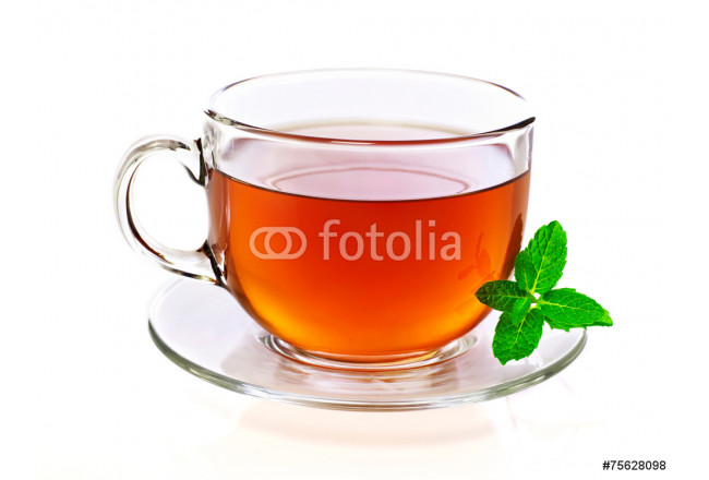 Cup of tea with mint 64239