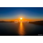 Greece Santorini island in Cyclades, the most famous sunset in t 64239