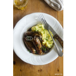 Sausages with mash 64239