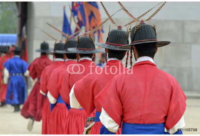 Cuadro decorativo Korean ancient traditional guards 64239