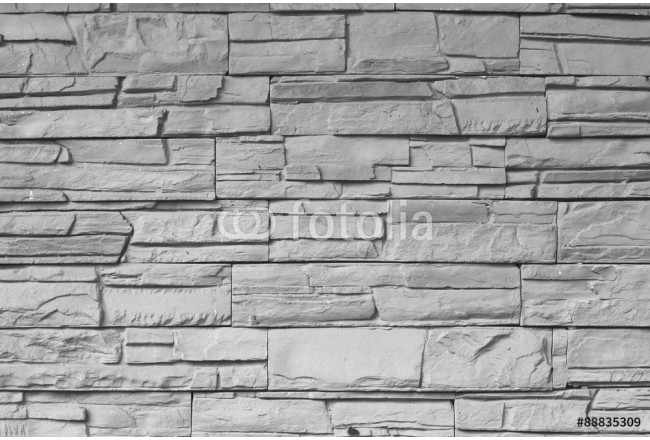 Close up of a brick-wall, Modern stone texture background 64239