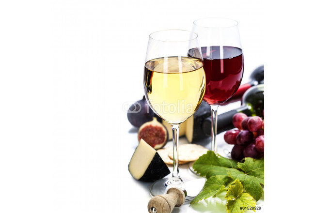 Wine, grape and cheese 64239