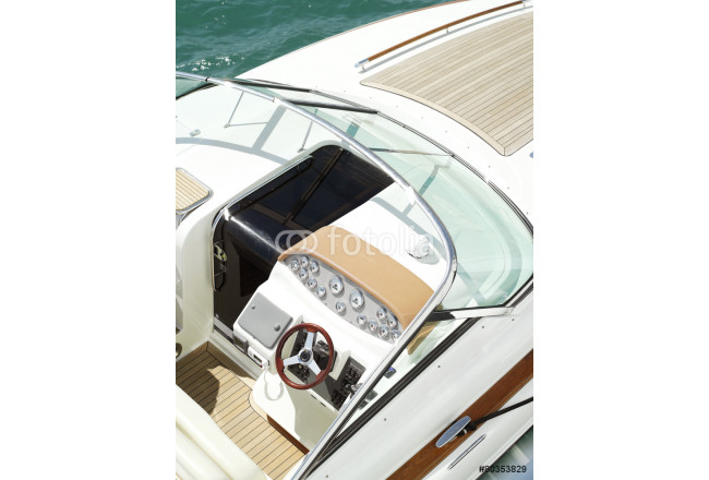 detail of motor yacht boat 64239