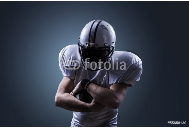 American Football Runningback <fin action 64239