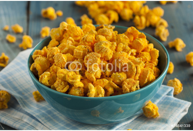 Homemade Cheddar Cheese Popcorn 64239