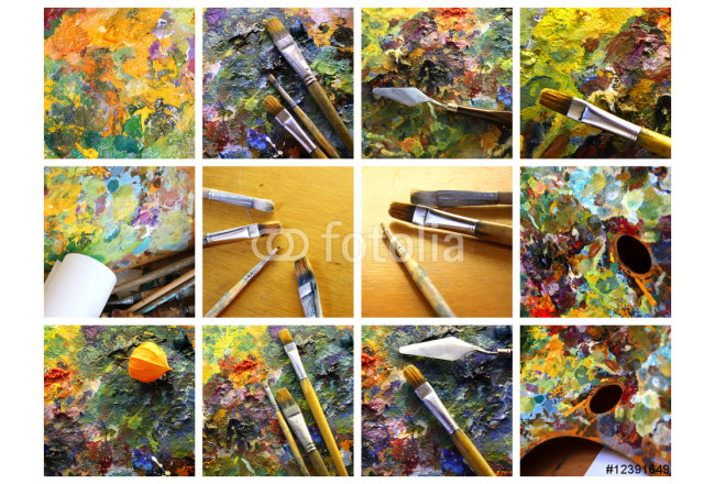 Set of painting 64239