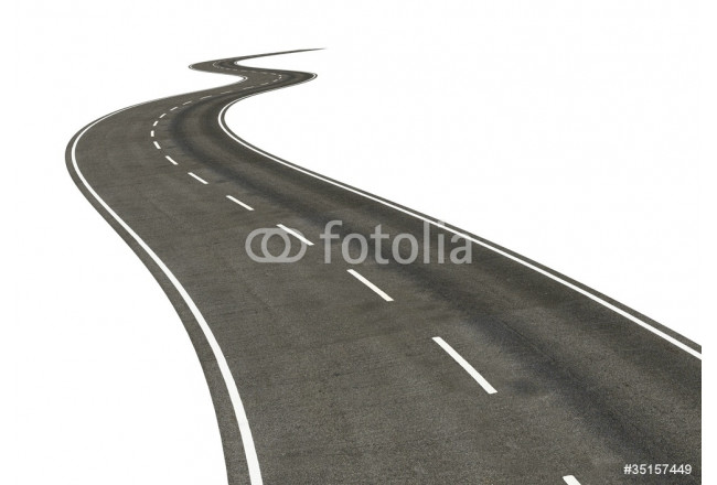 road isolated 64239