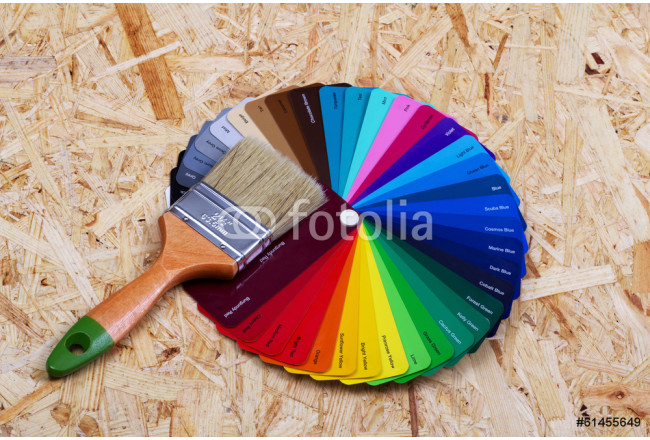 Selection of the correct paint 64239