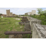 Old cannons, Ozama Fortress, Santo Domingo, Dominican Republic. 64239