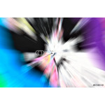 Abstract multicolored background. Rays of colorful light 64239
