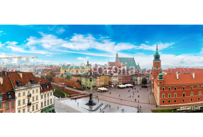 Panoramic view of Warsaw 64239
