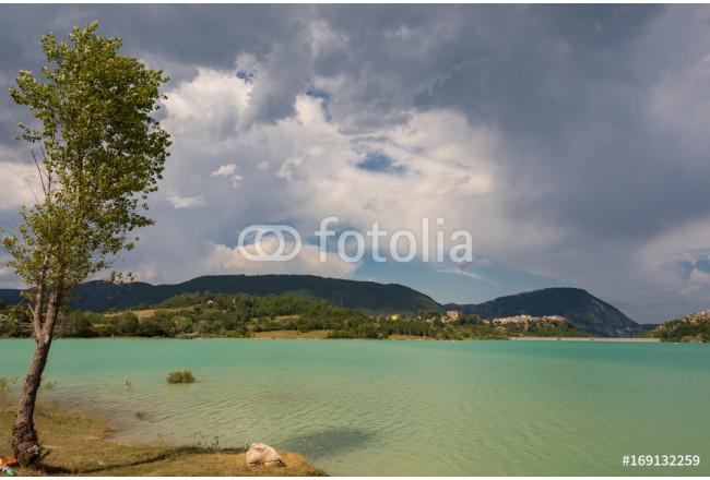 Stampa su tela castel san vincenzo is il lago scopri fantastiche