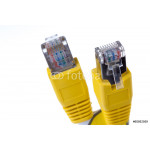 yellow network cable 64239