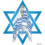 Star Of David Rabbi With Talit 64239